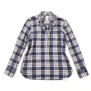 J. Crew | Homestyle Popover Boy Fit Shirt